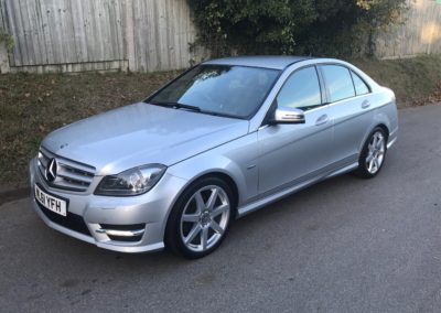 Mercedes Benz C200 CDI Sport Edition 4dr – SOLD