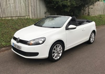 Volkswagen Golf 1.6 TDI SE Tech Convertible 2dr – £6,990
