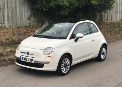 Fiat 500 1.2 Lounge Automatic – SOLD