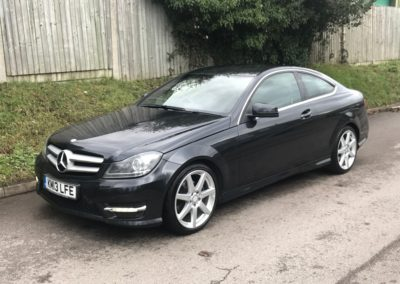 Mercedes Benz C220 CDI AMG Sport Coupe Auto – SOLD